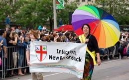 Parata di orgoglio di Toronto Fotografia Stock