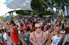 Parata di orgoglio a Tel Aviv Immagine Stock