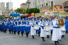 Parata di Pasqua a San Francisco, via del sindacato Immagini Stock