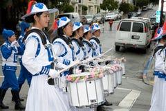 Parata di Pasqua a San Francisco, via del sindacato Immagini Stock Libere da Diritti