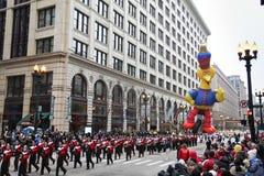 Parata di ringraziamento del Chicago Immagine Stock Libera da Diritti