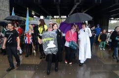 Parata di Sci Fi Londra il 29 aprile 2012 2012 Fotografie Stock Libere da Diritti