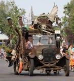 Parata dorata di giorni Fotografie Stock Libere da Diritti