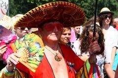 Parata gaia fotografie stock libere da diritti