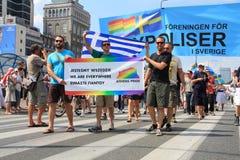 Parata gaia fotografia stock libera da diritti