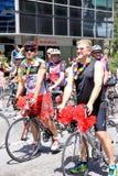 Parata gaia di orgoglio Fotografia Stock