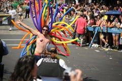 Parata gaia di orgoglio del Chicago Immagine Stock Libera da Diritti