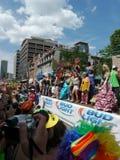 Parata gaia di orgoglio, Toronto, 2011 Immagine Stock Libera da Diritti