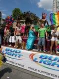 Parata gaia di orgoglio, Toronto, 2011 Fotografia Stock Libera da Diritti