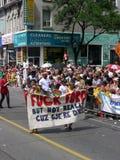 Parata gaia di orgoglio, Toronto, 2011 Fotografie Stock Libere da Diritti