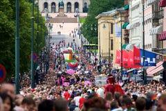Parata di orgoglio a Oslo   Immagine Stock