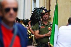 Parata italiana Fotografia Stock Libera da Diritti