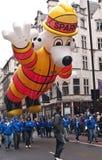Parata Londra di giorno del nuovo anno. Fotografia Stock