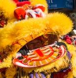 Parata lunare cinese di nuovo anno Immagini Stock Libere da Diritti
