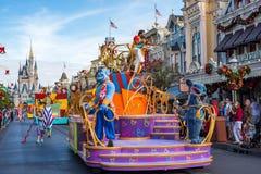 Parata in Main Street U.S.A. al regno magico, Walt Disney World Immagini Stock Libere da Diritti