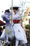 Parata Mary Poppins di Disneyland immagine stock libera da diritti