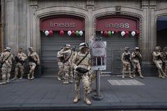 Parata militare immagine stock libera da diritti