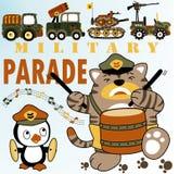 Parata militare illustrazione vettoriale