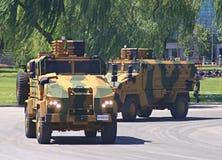 Parata militare a Ankara immagine stock libera da diritti