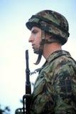 Parata militare a BELGRADO Fotografie Stock Libere da Diritti