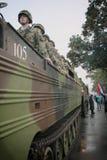 Parata militare a BELGRADO Immagine Stock Libera da Diritti