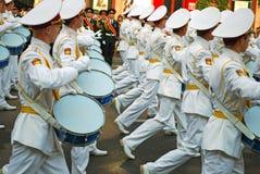 Parata militare a Kiev (Ucraina) Fotografie Stock