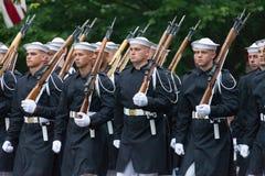 Parata nazionale di festa dell'indipendenza immagini stock libere da diritti