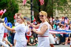Parata nazionale 2015 di festa dell'indipendenza Fotografie Stock Libere da Diritti