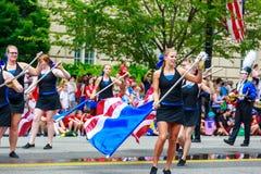 Parata nazionale 2015 di festa dell'indipendenza Immagini Stock