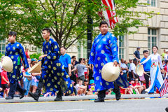 Parata nazionale 2015 di festa dell'indipendenza Fotografia Stock