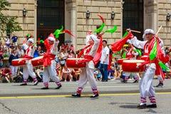 Parata nazionale 2015 di festa dell'indipendenza Immagine Stock