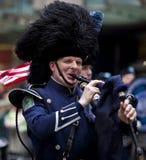 Parata New York 2013 del giorno di St Patrick Immagini Stock Libere da Diritti