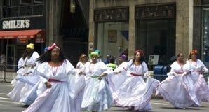 Parata portoricana di giorno; NYC 2012 Immagini Stock