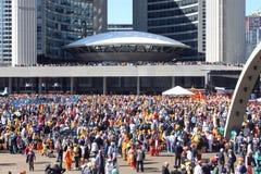 Parata sikh di Toronto Khalsa Immagine Stock Libera da Diritti