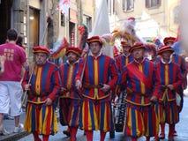 Parata storica Firenze Fotografie Stock