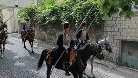 Parata tradizionale del gioco di Alka in Sinj