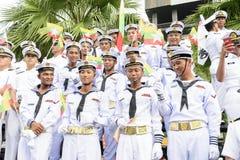 19 11 2017 parate navali e internazionali internazionali 2017 di anniversario del ` s 50 del asean di rassegna della flotta a Pat Fotografia Stock Libera da Diritti