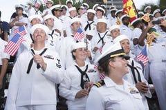 19 11 2017 parate navali e internazionali internazionali 2017 di anniversario del ` s 50 del asean di rassegna della flotta a Pat Immagini Stock Libere da Diritti