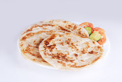 Paratha. Image for the hot and tasty paratha Royalty Free Stock Image