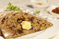 Paratha with ghee from India Stock Images