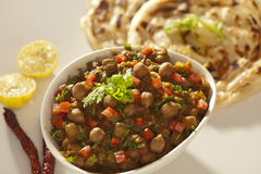Paratha with sprout masala from India Stock Photos