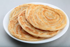 Parathas. Crispy wheat parathas ,a popular flat bread in Asia Royalty Free Stock Photos