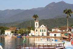 Parati harbor Royalty Free Stock Photography
