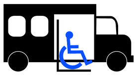 Paratransit transportation Royalty Free Stock Photo