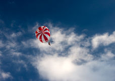 Paratrooper Royalty Free Stock Photo