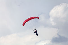 The paratrooper Royalty Free Stock Photography