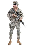 Paratrooper airborne infantry Royalty Free Stock Images