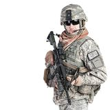 Paratrooper airborne infantry Royalty Free Stock Photography