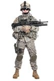 Paratrooper airborne infantry Stock Photo
