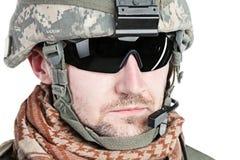 Paratrooper airborne infantry Stock Image